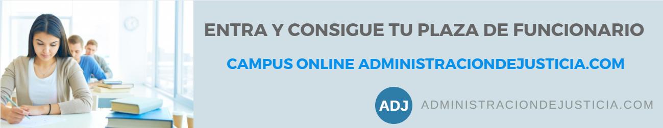 Campus ADMINISTRACIONDEJUSTICIA.COM